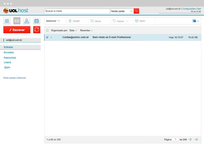 Criar e mail profissional personalizado com seu domnio uol host utilize o calendrio de e mail para organizar seus compromissos stopboris Image collections